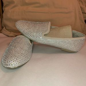 Chinese Laundry Champagne Bling Loafers